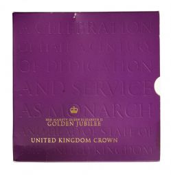 2002 golden Jubliee Royal Mint Brilliant Uncirculated pack for sale